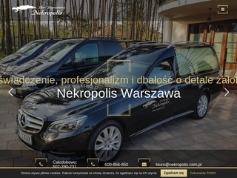 Nekropolis zakład pogrzebowy Warszawa