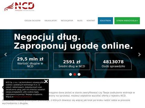 Narodowecentrumdlugow.pl - umorzenie