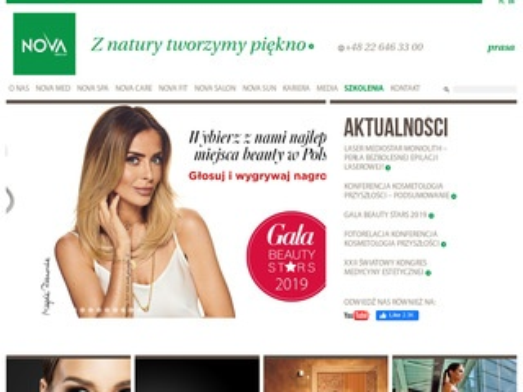 Novagroup.pl dystrybutor sprzętu fitness