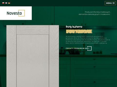 Novesto.pl fronty lakierowane połysk