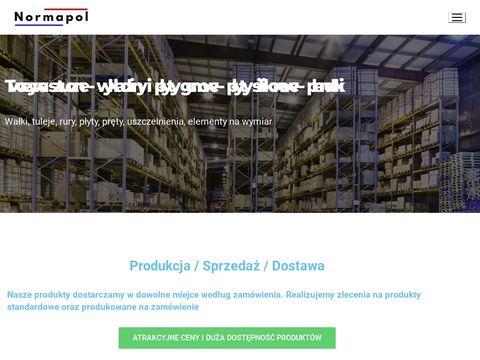 Normapol.pl wałki poliamidowe PA6