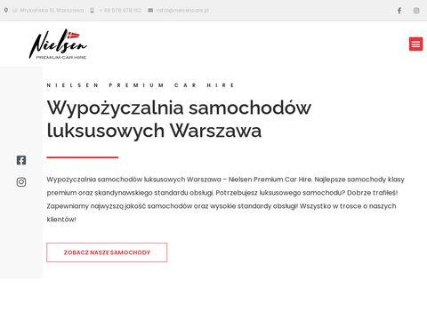Nielsencars.pl wynajem samochodów Warszawa