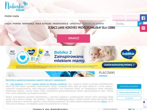 Niebieskiepudelko.pl portal dla kobiet w ciąży