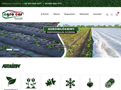 Agro-car - sklep internetowy z agrowłókninami