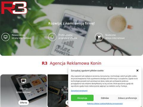 Agencjareklamowar3.pl strony internetowe Konin