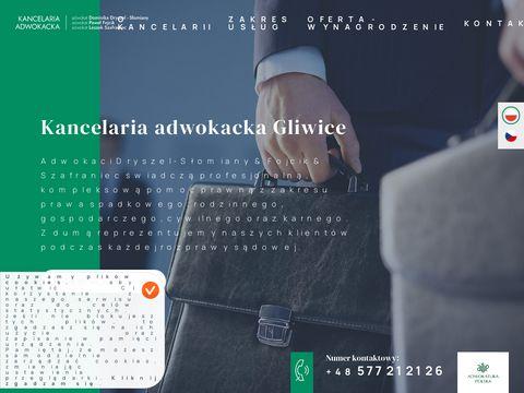 Adwokacigliwice.pl prawnik