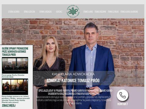 Adwokat-katowice.biz Tomasz Piróg