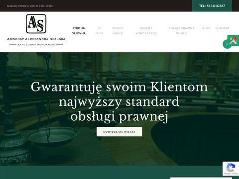 Adwokat-skalska.pl prawnik Lublin