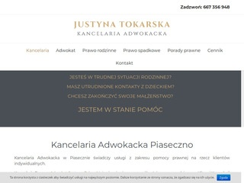 Adwokat-tokarska.pl kancelaria Piaseczno