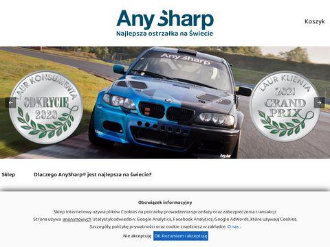 Anysharp.pl najlepsze ostrzenie noży