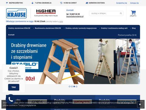 Alusystems.pl - rusztowanie aluminiowe