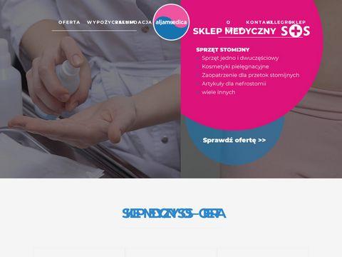 Aljameedica.pl wypożyczalnia sprzętu medycznego