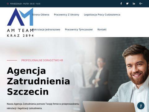 Am-team.pl agencja pracy Szczecin