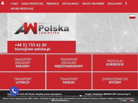 Aw-polska.pl wysyłka palet
