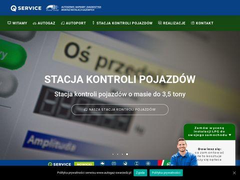 Autogaz-swarzedz.pl montaż instalacji Poznań
