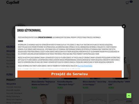 Argonshop.cupsell.pl koszulki bluzy z nadrukiem