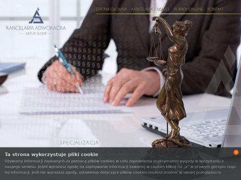 As-adwokat.pl kancelaria adwokacka Artur Ślemp