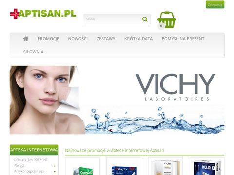 Aptisan.pl apteka internetowa