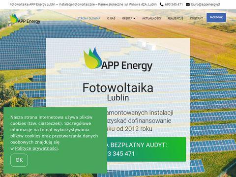 APP Energy fotowoltaika Lublin