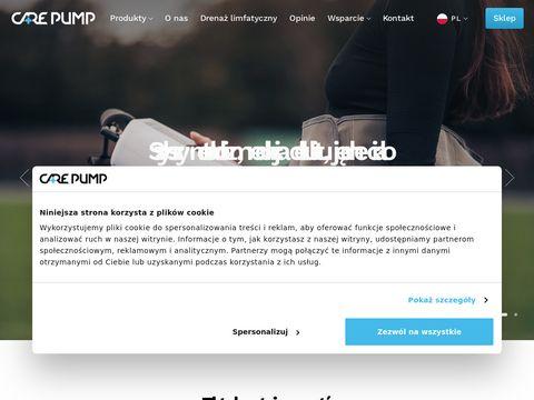 Carepump.pl urządzenia do drenażu limfatycznego