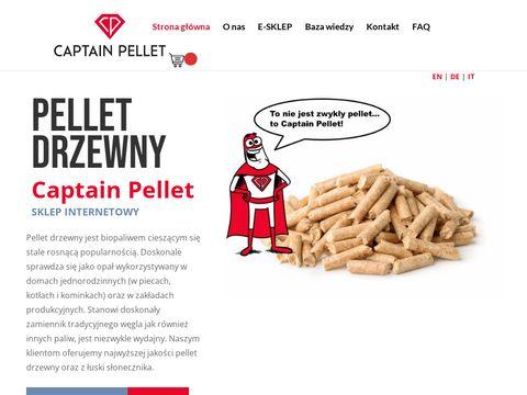 Captainpellet.pl pellet dębowy sklep internetowy