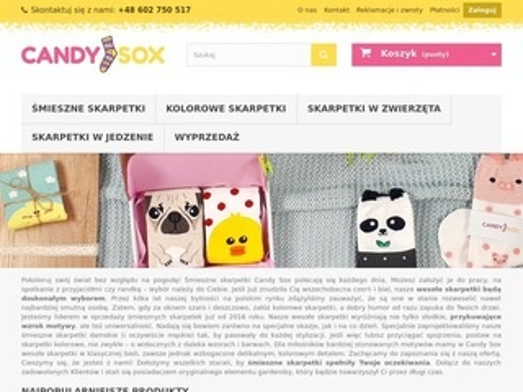 Candysox.pl kolorowe skarpetki