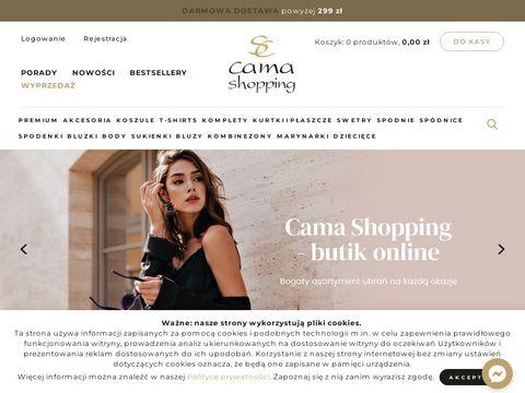 Camashopping.com sklep z odzieżą damską