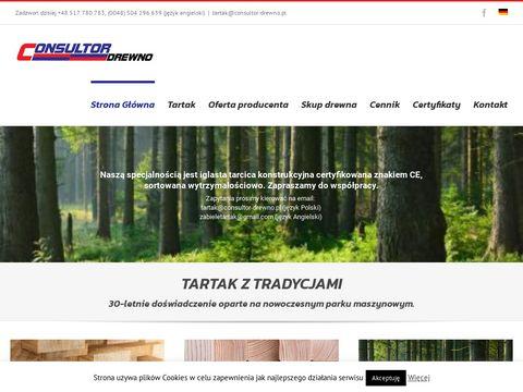 Konsultor-drewno.pl tarcica, bale, biomasa