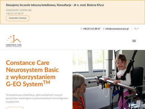 Constancecare.pl rehabilitacja po wypadku