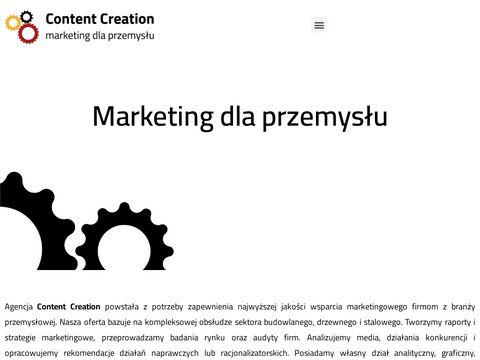 Content Creation online marketing