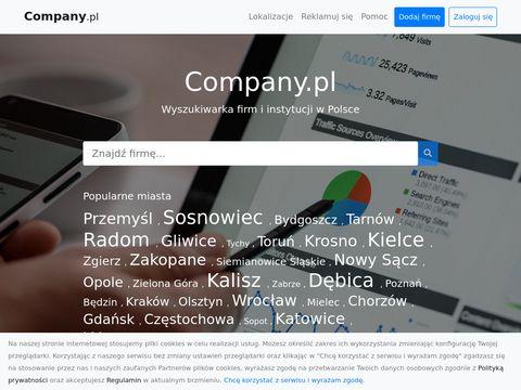 Company.pl wizytówki firm w wyszukiwarce