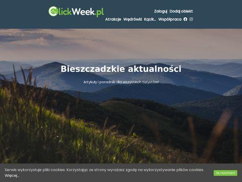 Clickweek.pl bieszczady nocleg
