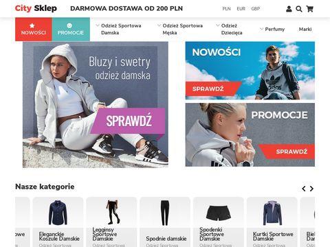 Citysklep.pl odzież męska