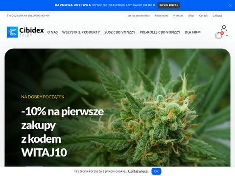Cibidex.pl sklep konopny CBD