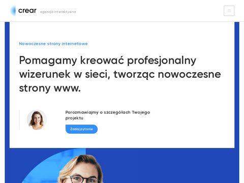 Crear.pl strony www sklepy internetowe