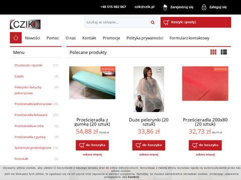Cziksklep.pl hurtownia jednorazowych materiałów