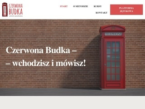 Czerwonabudka.pl szkolenie językowe angielski
