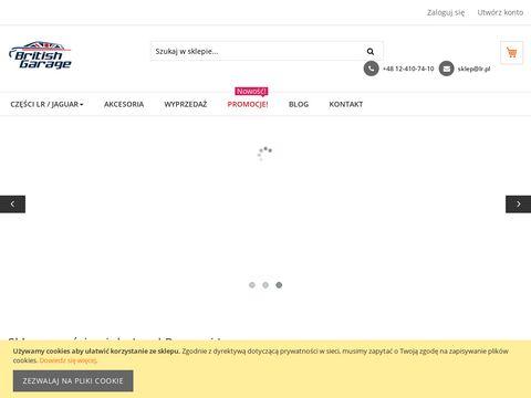 Czesci.lr.pl British Garage