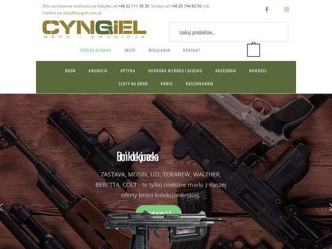 Cyngiel.com.pl sklep z bronią i amunicją Warszawa