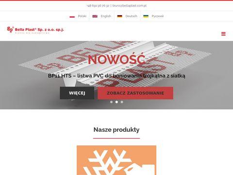 Bellaplast.com.pl listwy okapnikowe