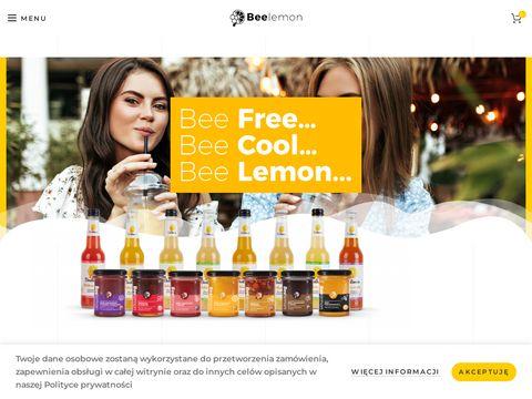 Beelemon.pl naturalna lemoniada słodzona miodem