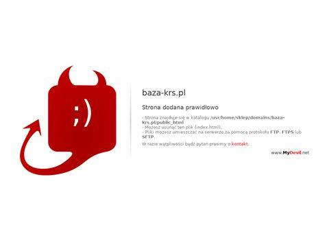 Baza-krs.pl wyszukiwarka CEIDG