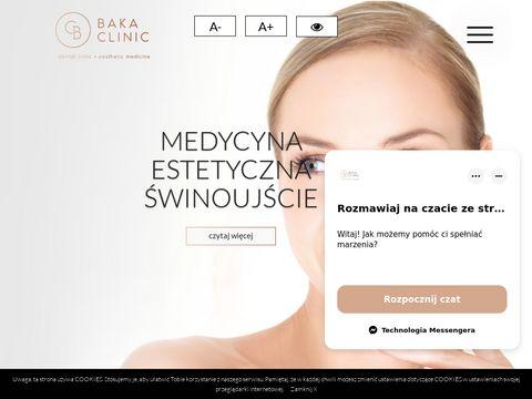 Bakaclinic.pl medycyna estetyczna Świnoujście