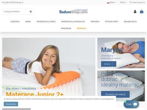 Badumshop.com sklep dla dzieci w każdym wieku