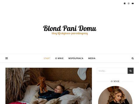 Blondpanidomu.pl blog dla kobiet