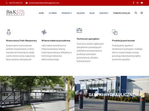 Bk-securitysystems.pl bramy dla przemysłu przesuwne