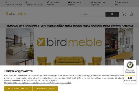 Birdmeble.pl krzesła tapicerowane