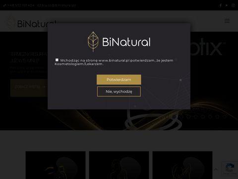 Binatural.pl sprzęt do gabinetów kosmetycznych
