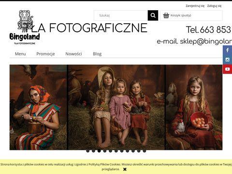 Bingoland.pl tła fotograficzne