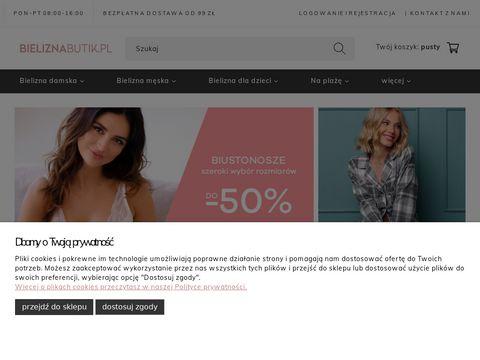 Bieliznabutik.pl biustonosze online